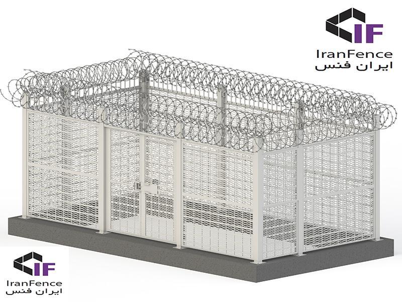 فنس استاندارد امنیت بالا - High Secure Fence (HSF)